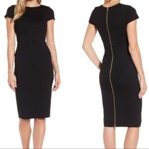 Felicity & Coco Kelly Black Ward Dress Size S